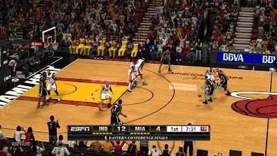 NBA 2K13 ESPN Scoreboard Conference Finals