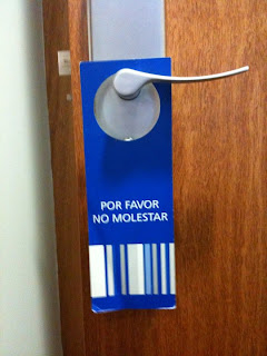 Do Not Disturb - Barcelona style, Funny Pictures,