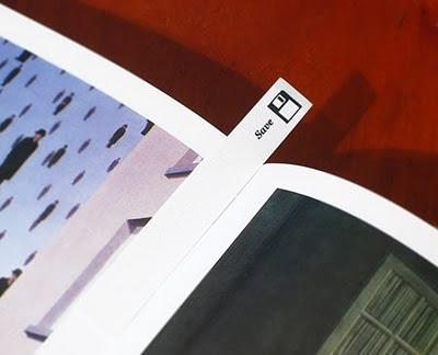 kaydet ikonuna sahip kitap ayracı