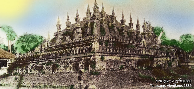 Old Photo: The Tat Luang in 1889