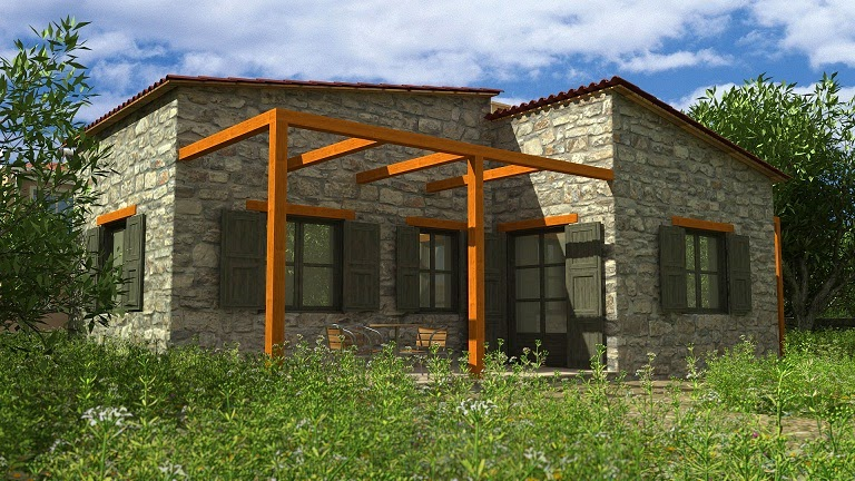 fachadas de piedra fachadas de casas con piedra decorativa On fachadas de casas con piedra decorativa