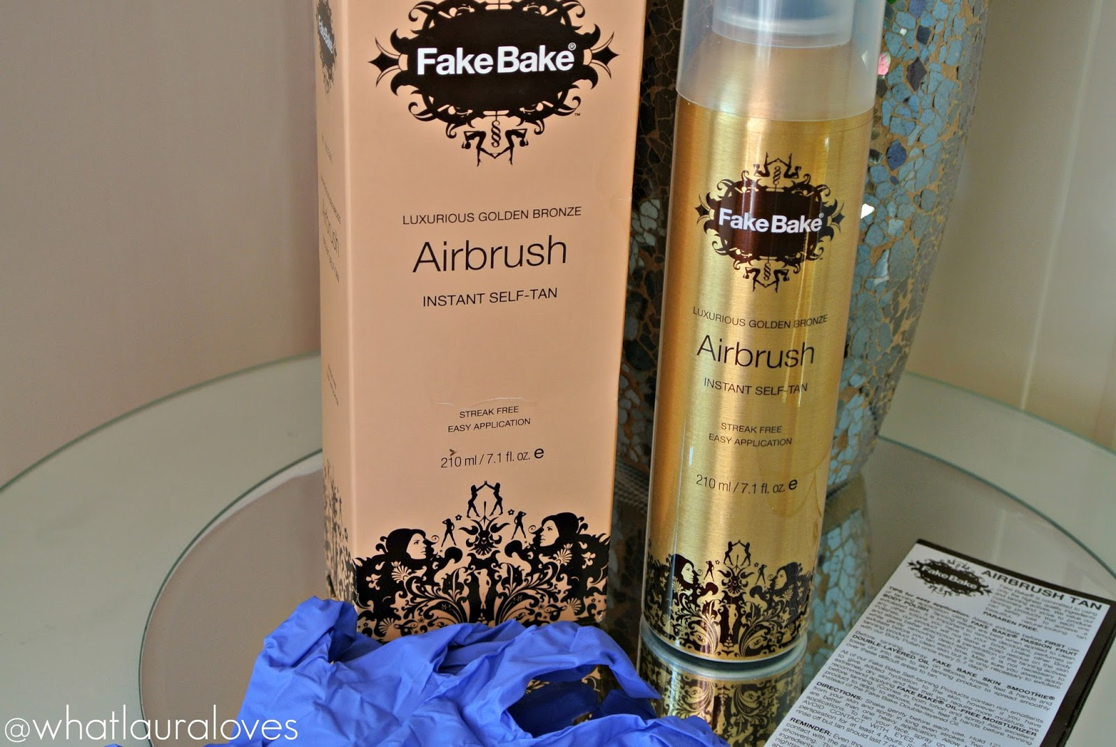 My Favourite Quick and Easy Tanning Routine Fake Bake Airbrush Body Polish Oil Free Moisturizer Review