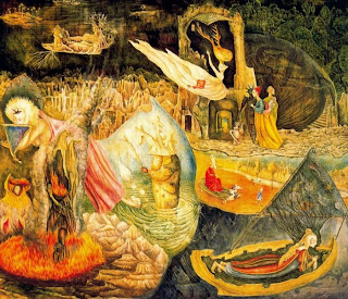 Las distracciones de Dagobert - Leonora Carrington