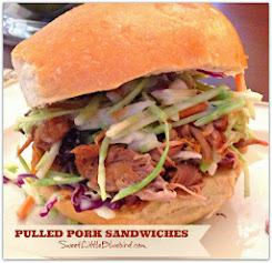 Pulled Pork Sandwiches {Sweet & Smoky in the crock-pot}  So good