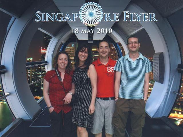 La noria de Singapur: Singapore Flyer