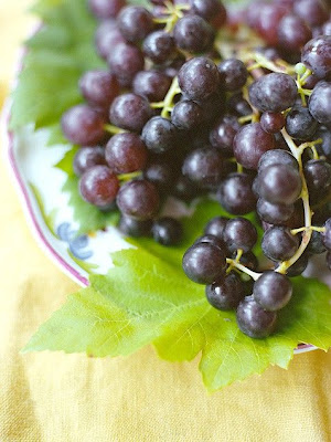Give your back some TLC with grapes