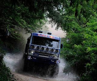 Rally/Raid Dakar 2012 - camiones