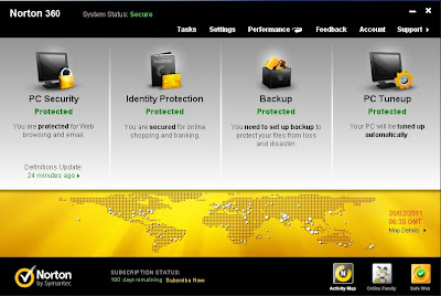 Download Norton 360 v5.0 with Trial Reset 3.0