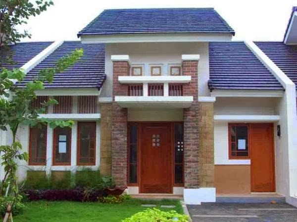 contoh model rumah minimalis 4