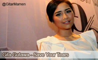 lirik lagu save your tears