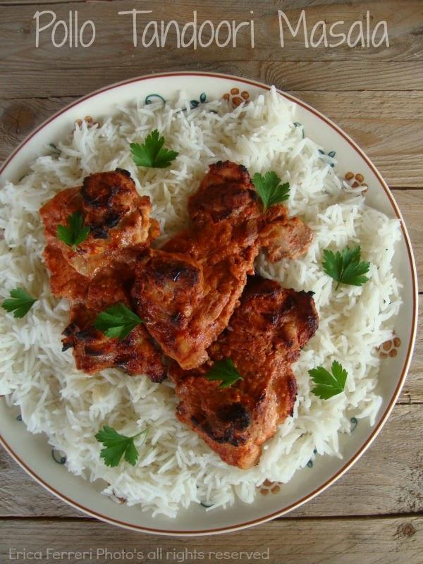Ricetta tradizionale pollo tandoori masala