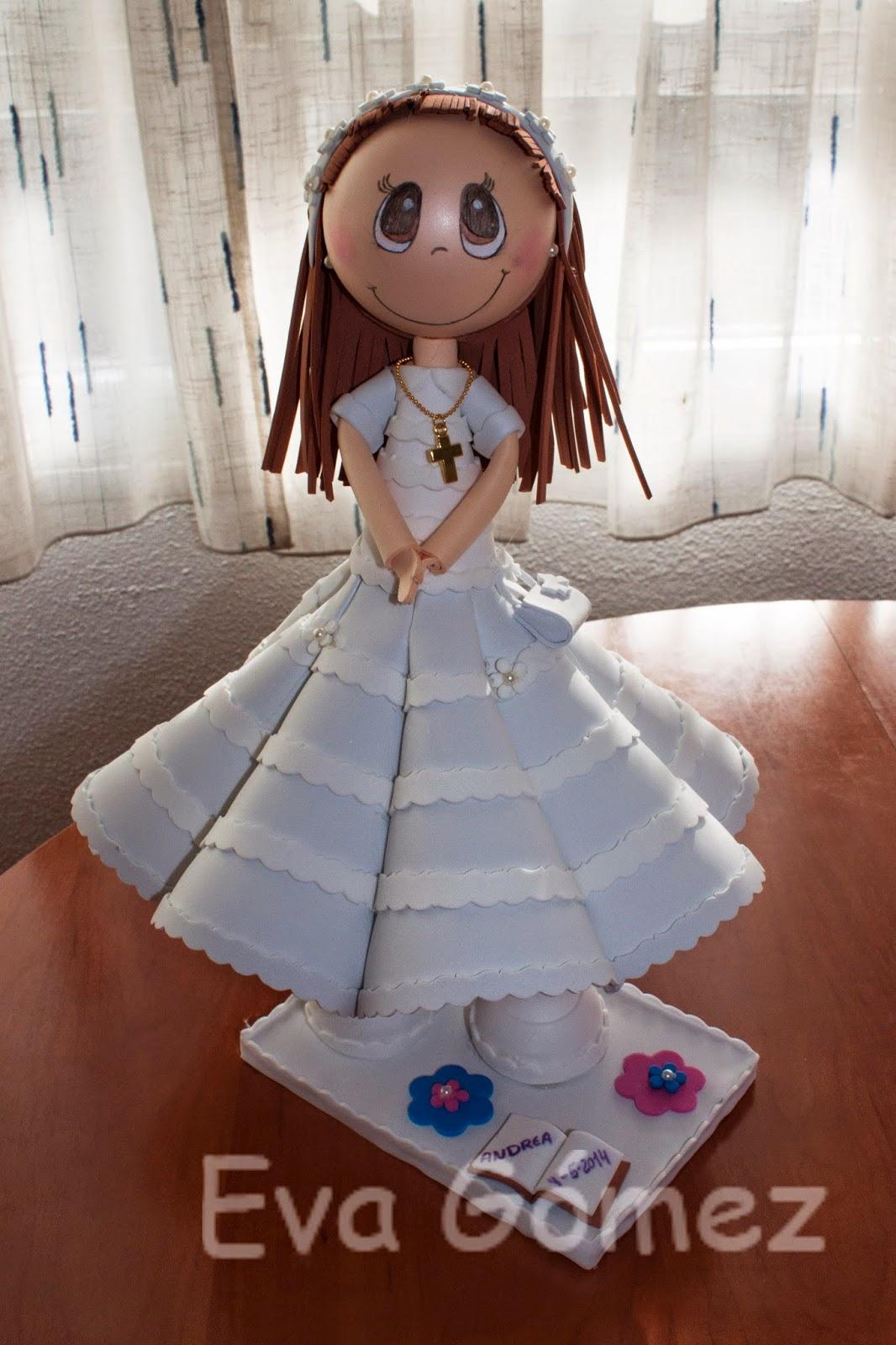 Vestido fofucha primera comunion