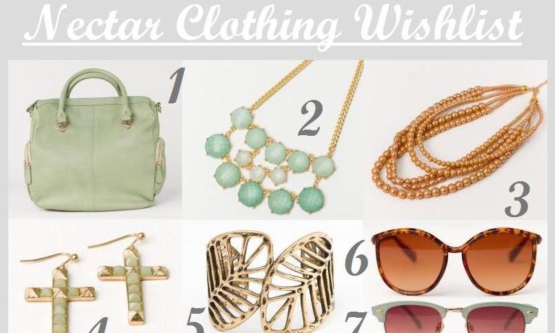 Nectar Clothing Wishlist