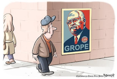 Herman Cain: The Audacity of Grope