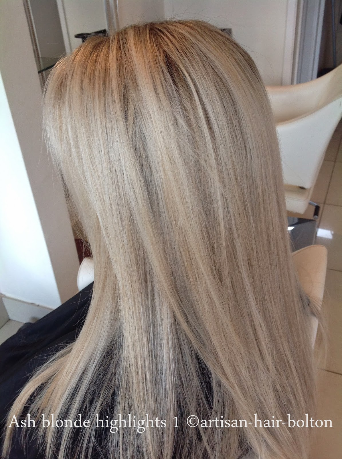 Highlighted Ash Blonde Hair Hairs Picture Gallery