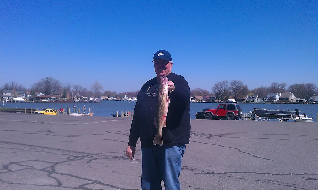 Houghton lake walleye report 3 magnum report detroit river for Enid lake fishing report