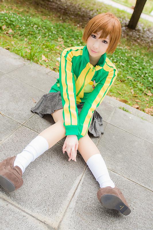CosRain.Com Miiko's COSPLAY - Chie Satonaka