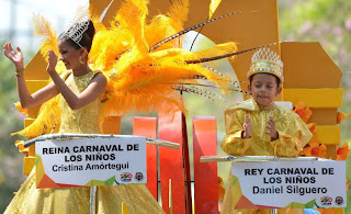 DESFILE DEL CARNAVAL DE LOS NIÑOS 2013