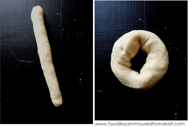 Fresh cream doughnut recipe food like amma used to make it to make ring doughnuts roll the dough into a ball then roll between the palms until elongated join the two ends to form a torus shape forumfinder Gallery