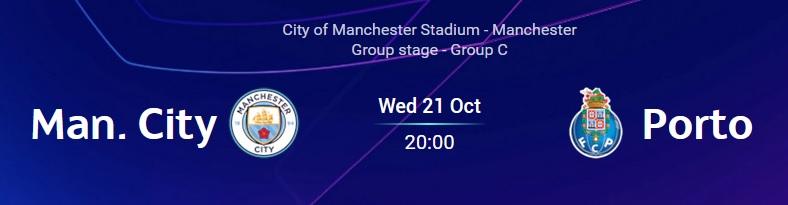 21 de outubro, 20h: Manchester
