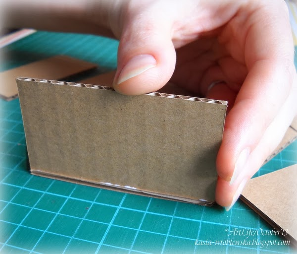 Коробка из микрогофрокартона своими руками 21