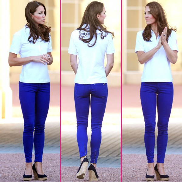 TORR-FASHION: Skinny Jeans - Kate Middleton