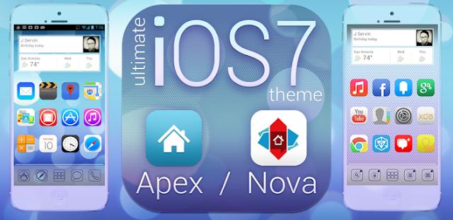 sreenshots Ultimate iOS7 Apex Nova Theme 1.561 APK