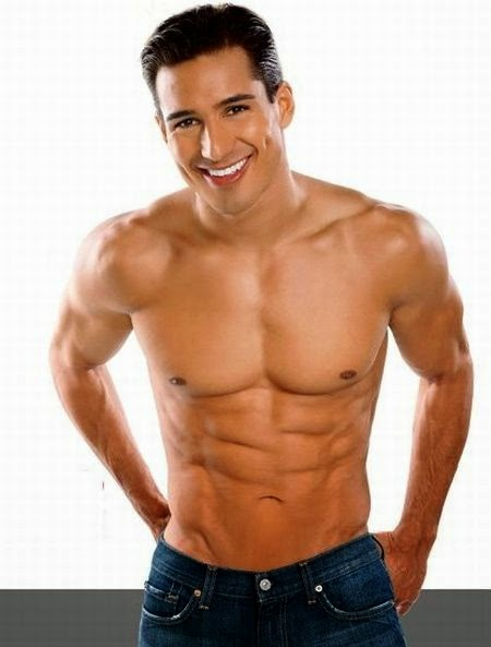 Actor Host Mario Lopez Shirtless Photos
