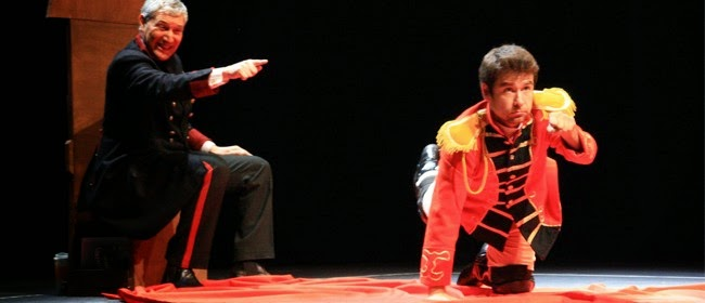 """Corta temporada de """"El panfleto del rey y su lacayo"""" en el Teatro Benito Juárez"""