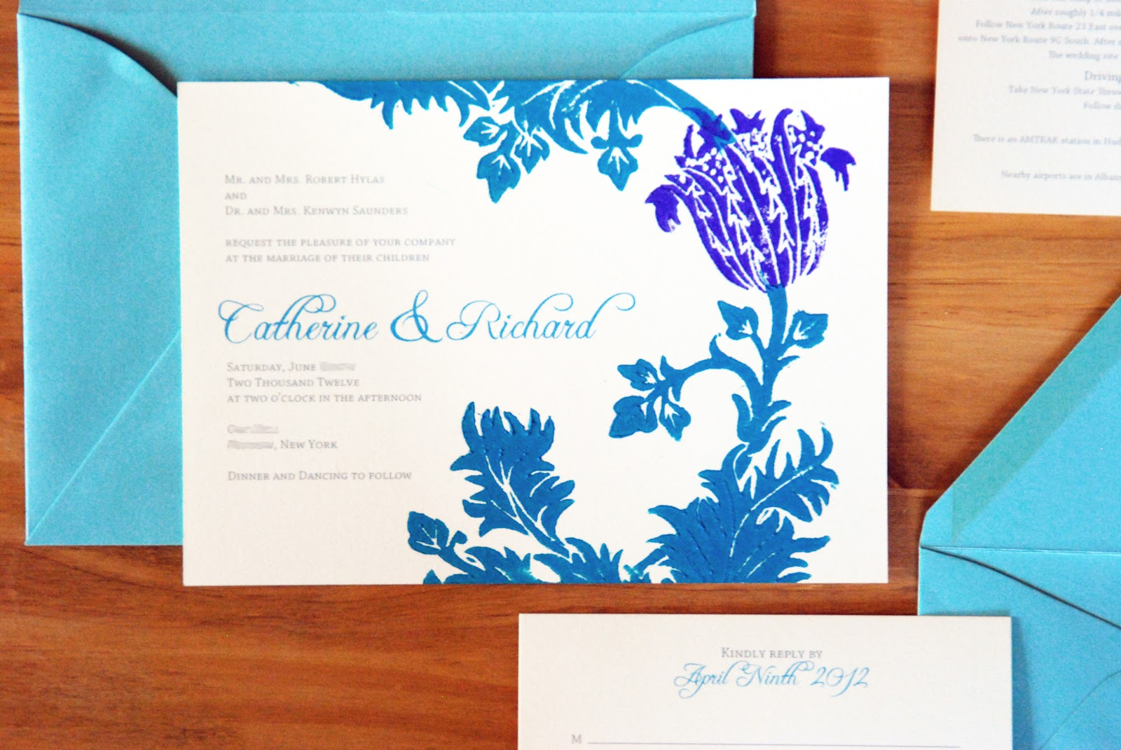 Katharine Watson: Introducing Custom Wedding Invitations!