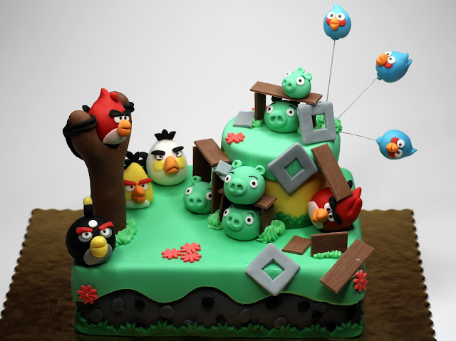 Angry Birds Cake London