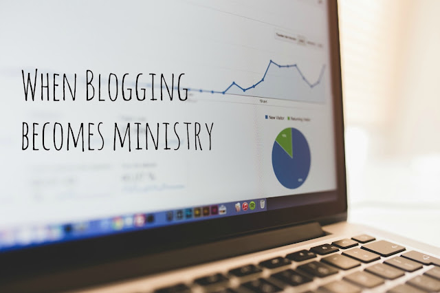 blogging as ministry