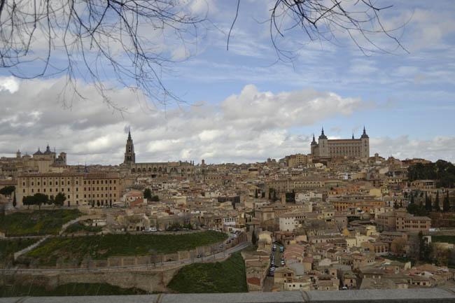 Toledo Invierno gris