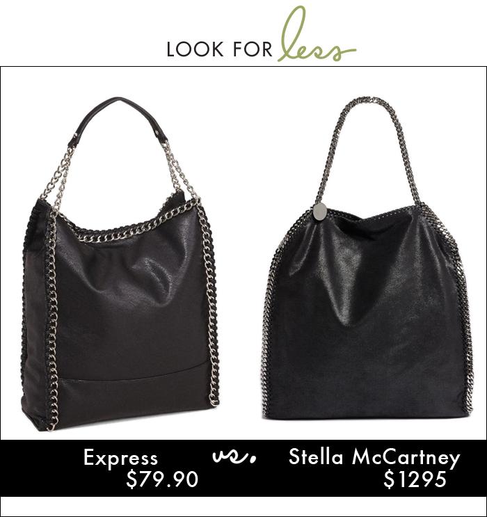 Stella McCartney, express, chain handbag, tote, hobo, handbag, express