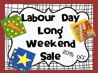 Labor Day Long Weekend Sale