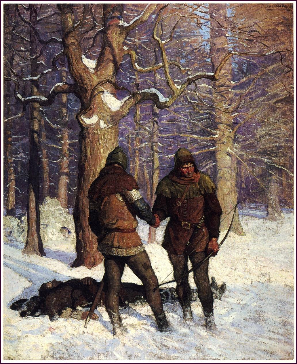 *N. C. WYETH* The Black Arrow by Robert Louis Stevenson