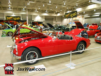 Jax Wax 1958 MGA Roadster
