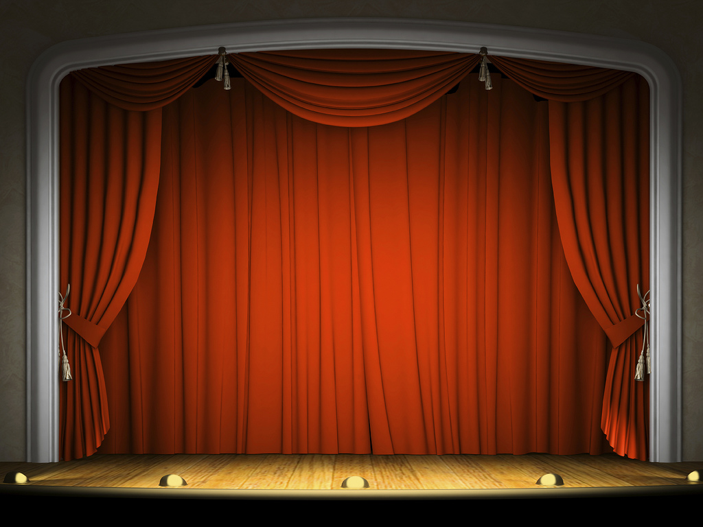 The Free Mans Monologue Curtain Down