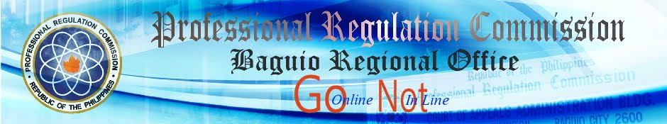 PRC Baguio Information Site