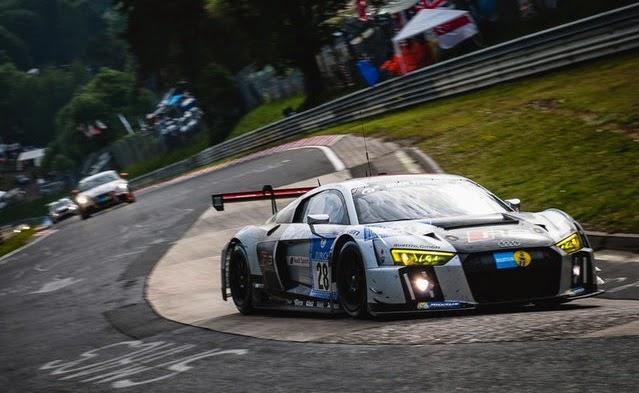 Triunfo para el nuevo Audi R8 LMS GT3 en las 24 Horas de Nürburgring 2015