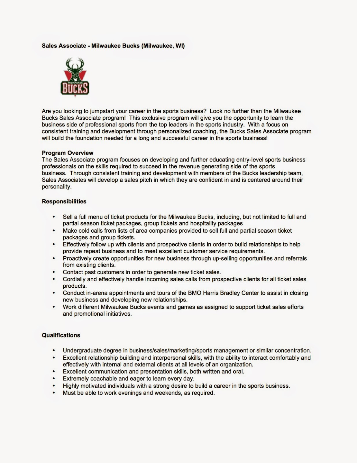 sports business club at uw madison job internship opportunities any interested in this position can apply via teamworkonline or reach out personally to natalie porter former sbc member and current s associate for