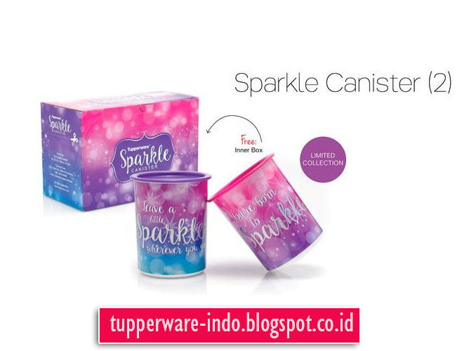 Tupperware Sparkle Canister (2)