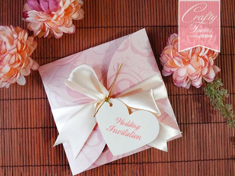 classy modern handmade wedding invitation cards Malaysia, Kuala Lumpur and Ipoh