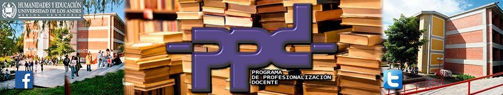 Programa de Profesionalización Docente