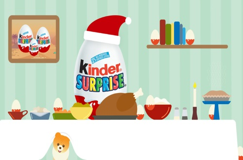 Kinder Surprise Holiday Giveaway