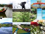 Pasar terapung Bandung semakin ramai pengunjung
