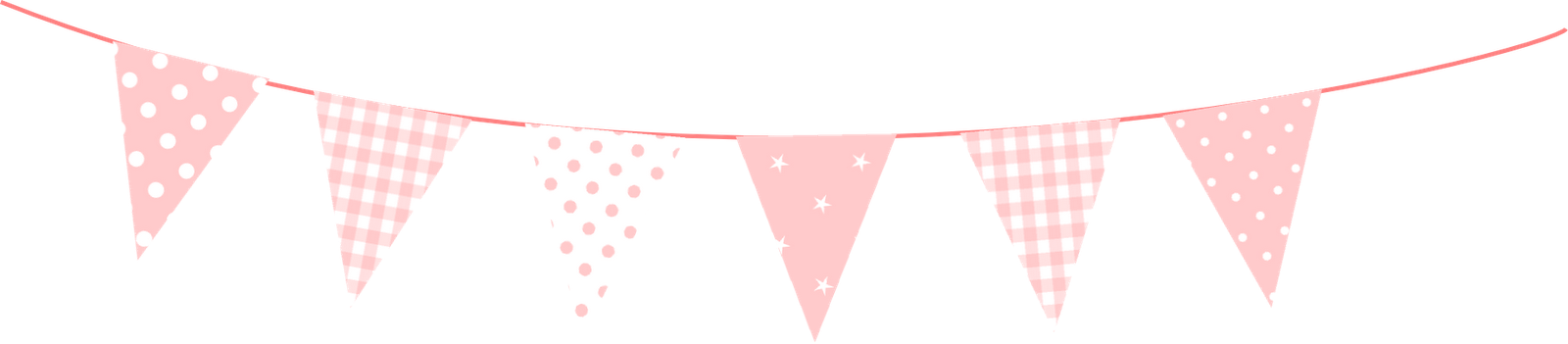 Free Printable Mini Bunting Polka Dot Bunting Party