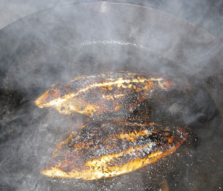 cooking blackened fish
