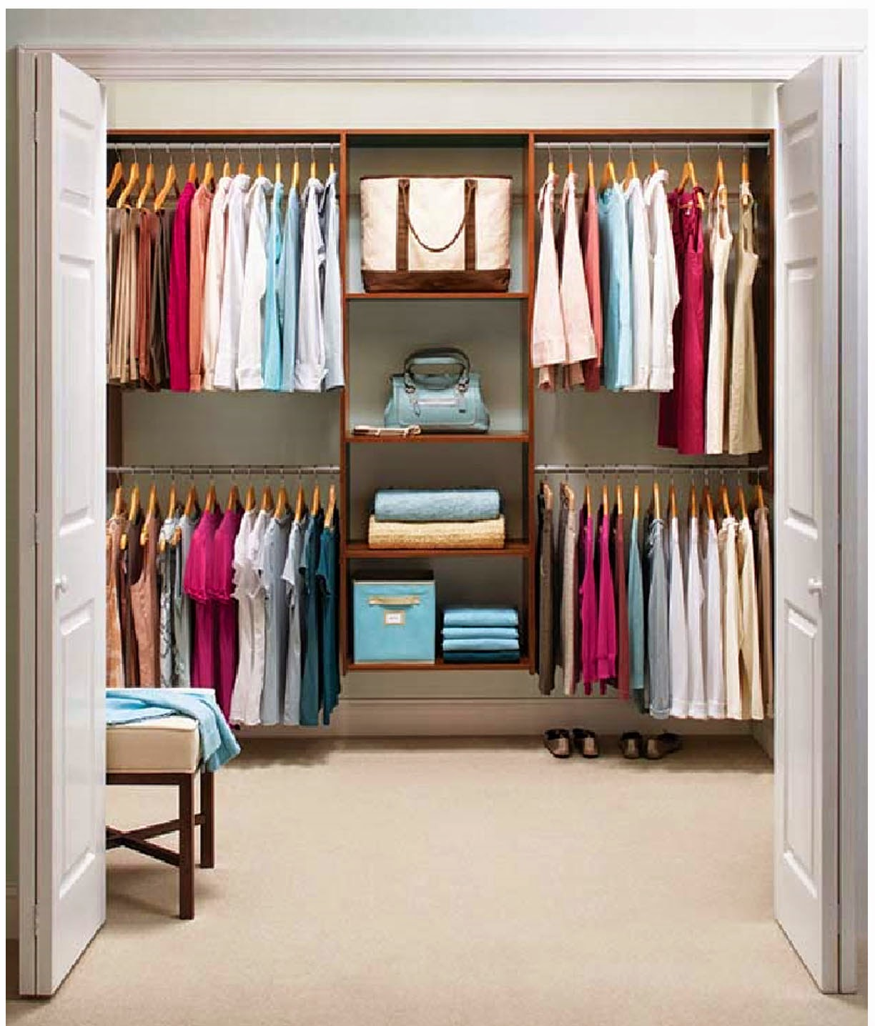 Virlova interiorismo for Closet para habitaciones pequenas