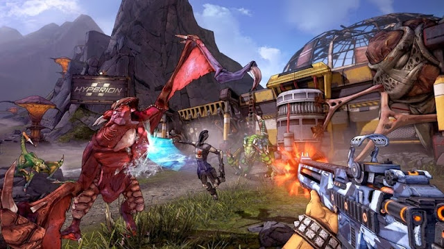 Download game bắn súng  BORDERLANDS 2